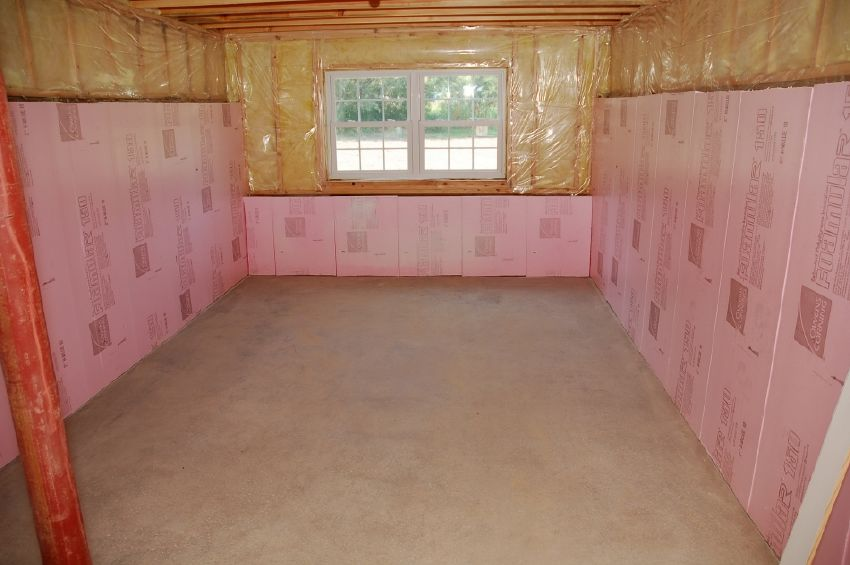 Insulating Basement Walls With Foam Board Spillo Caves