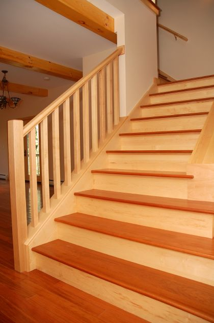 Hardwood stairs pictures flooring design pictures for Hardwood floors on stairs